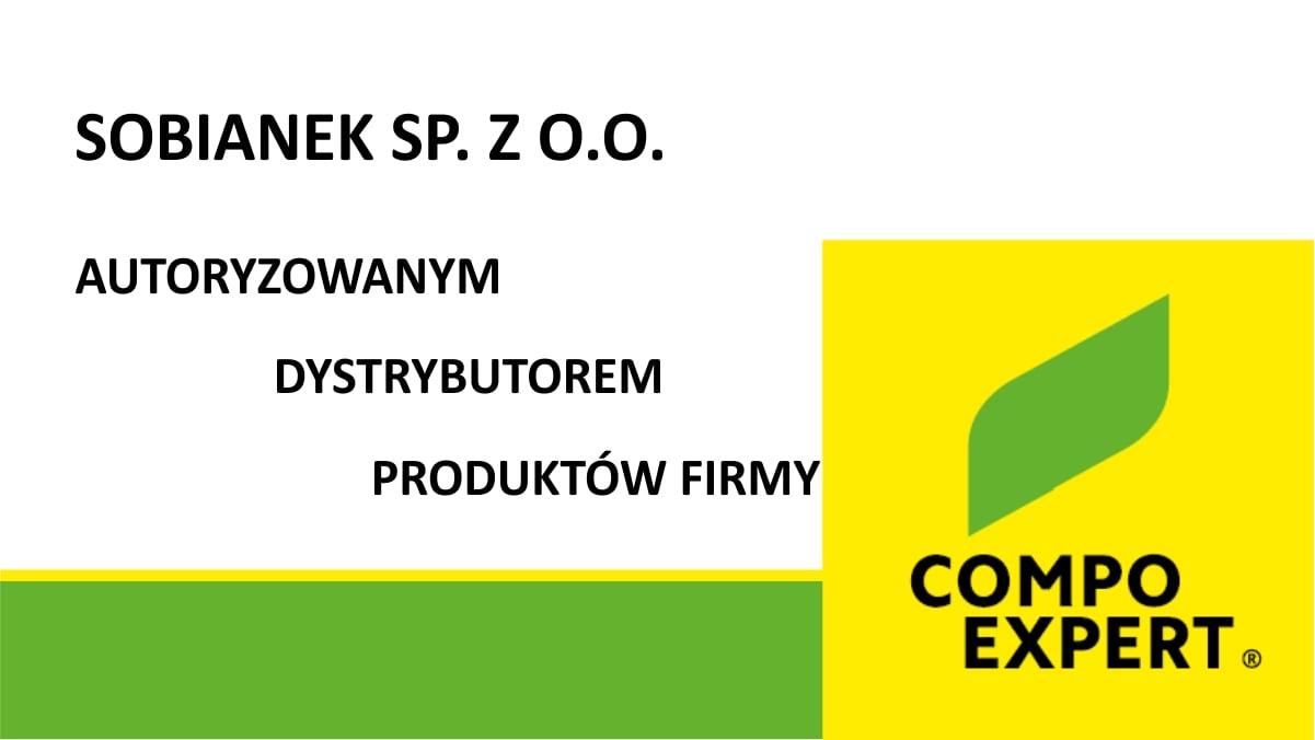 Sobianek Sp. z o.o. Autoryzowanym Dystrybutorem firmy COMPO EXPERT - producenta wysokiej jakości innowacyjnych nawozów specjalistycznych.
