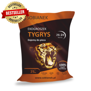 ekogroszek tygrys bestseller Sobianek sklep