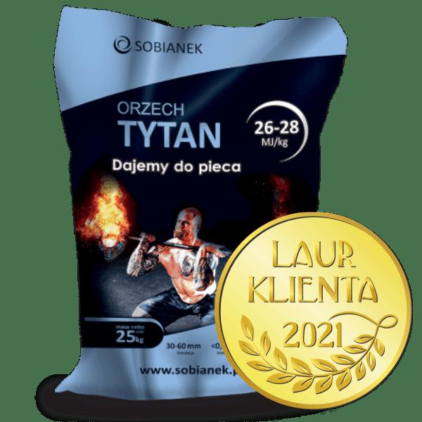 Orzech Tytan z nagrodą Złoty Laur Klienta 2021