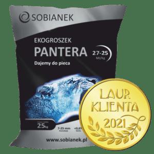 Ekogroszek Pantera z nagrodą Laur Klienta 2021