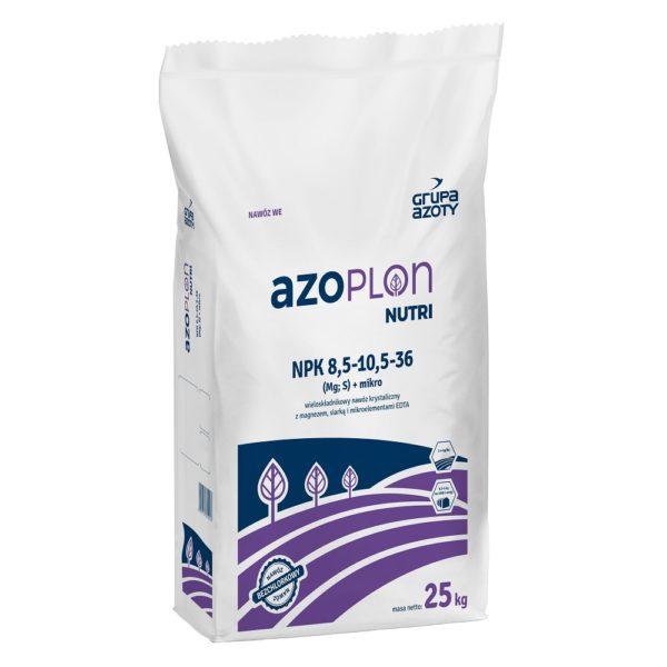 Azoplon Nutri NPK 8,5-10,5-36 opakowanie 25kg