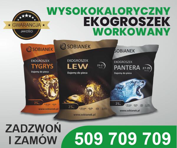 Najlepszy polski ekogroszek Sobianek