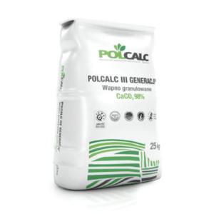Polcalc III generacji wapno nawozowe opakowanie 25kg