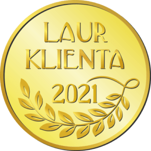 złoty laur klienta 2021