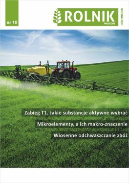 Rolnik nr 10 wiosna 2021 okładka
