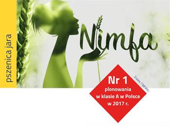 Pszenica jara Nimfa