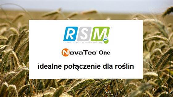 RSM® i NovaTec® One – idealne połączenie dla roślin