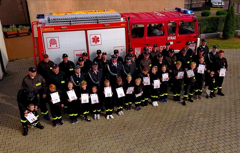 Wsparcie dla Strażaków od firmy Sobianek