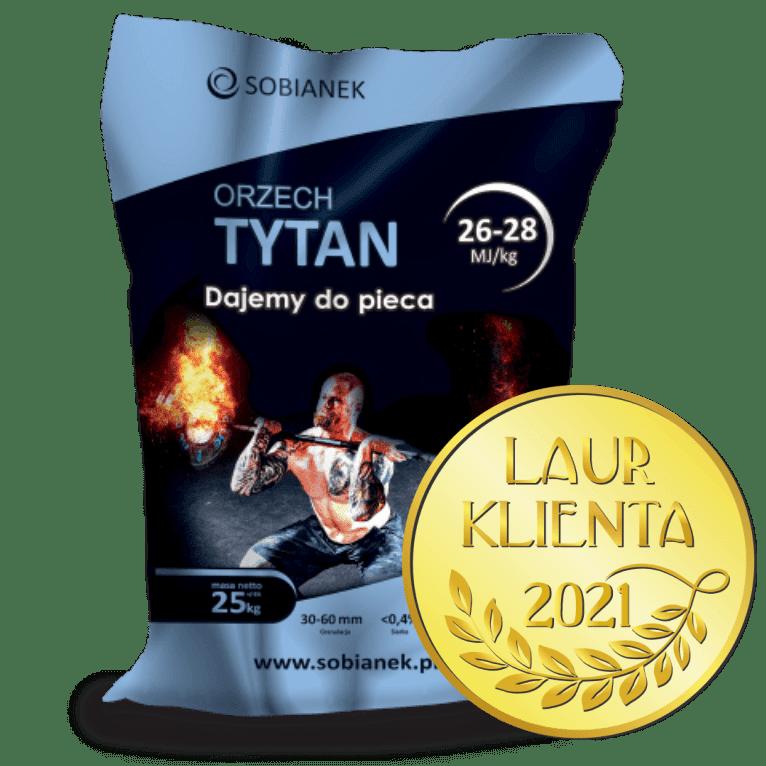 Orzech Tytan ze znakiem opakowanie