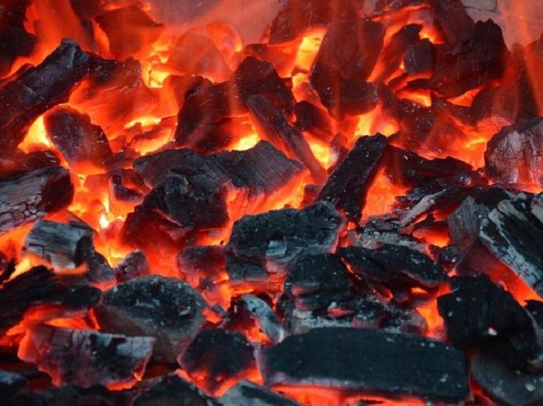 węgiel żar