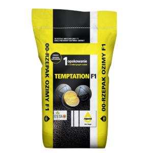 Rzepak ozimy TEMPTATION odmiana mieszańcowa opakowanie 10 kg