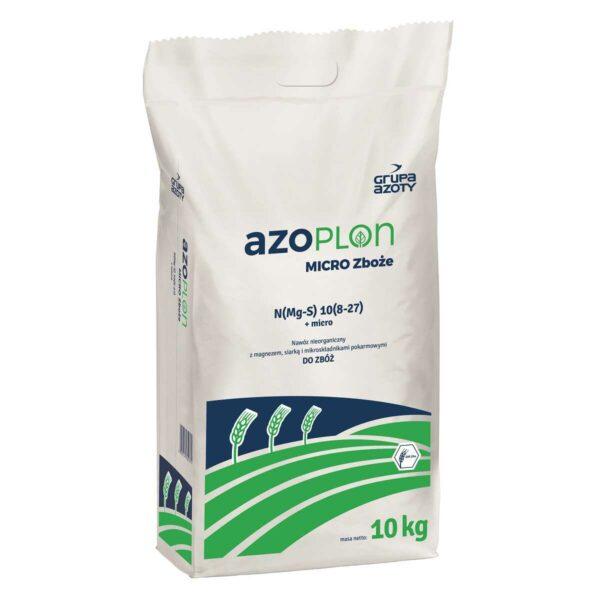 Nawóz granulowany Azoplon Micro Zboże w opakowaniach 4 i 10 kg