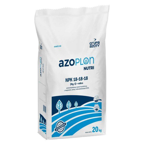Azoplon nutri NPK 18-18-18 wopakowanie 4 i 25kg