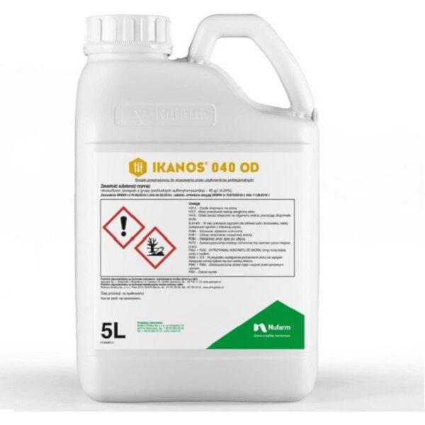 Ikanos 040OD chwastobójczy preparat opakowanie 1 i 5 litrów