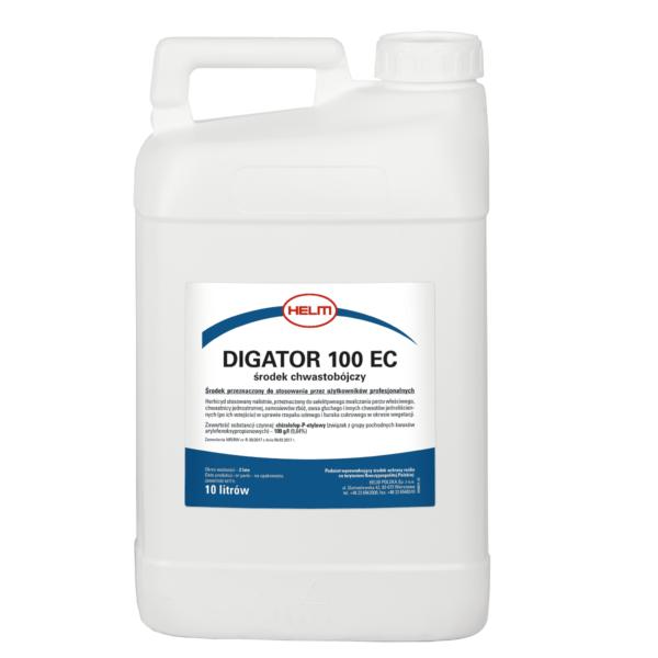 Chwastobójczy preparat Digator 100 EC pojemność 10 litrów