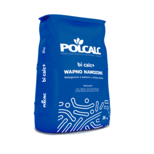 Granulowane wapno węglanowe Polcalc Bi Calc plus opakowanie 25 kg