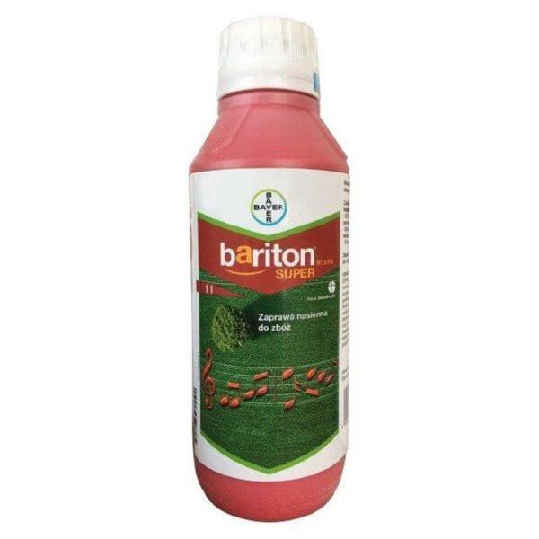 Zaprawa nasienna bariton przy stosowaniu zbóż ozimych w opakowaniu 1l