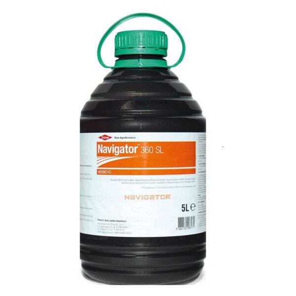 Navigator 360 SL herbicyd selektywny do rozrabiania z wodą opakowanie 5 litrów
